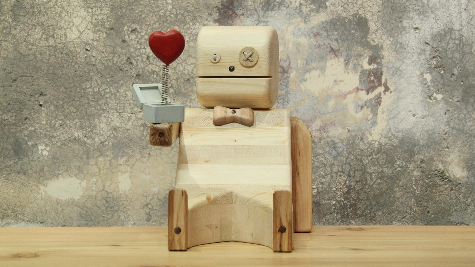 Pupezzo di legno | Mi vuoi sposare? 4